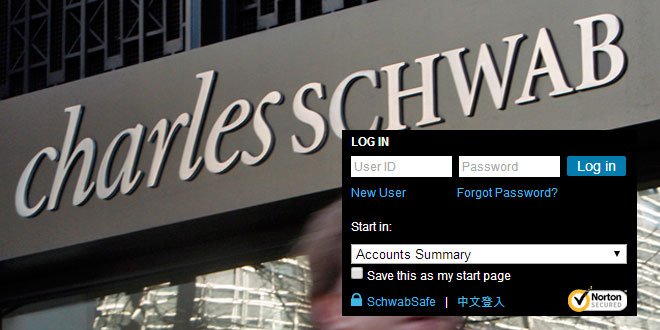 charles schwab log in