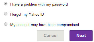 What problem are you having with your Yahoo account