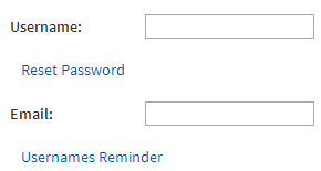 Roblox : Forgot your username or password