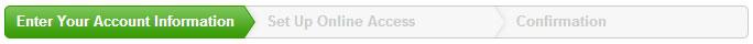 Set-up online Citi Bank access account