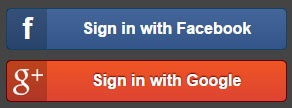 Sign-in with Facebook or Google Plus on MocoSpace