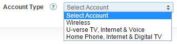 ATT Account Type