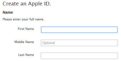 how to create a new encrypt password on itunes