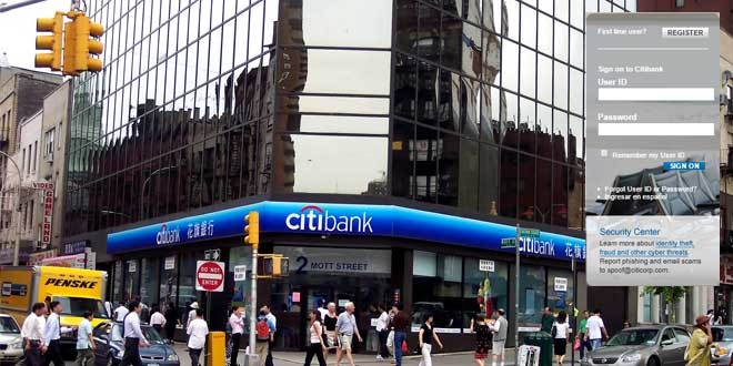 Citibank login
