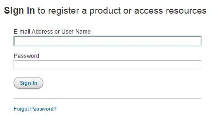 Cengage Sign In to register a product or access resources