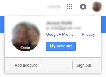 Gmail my account online
