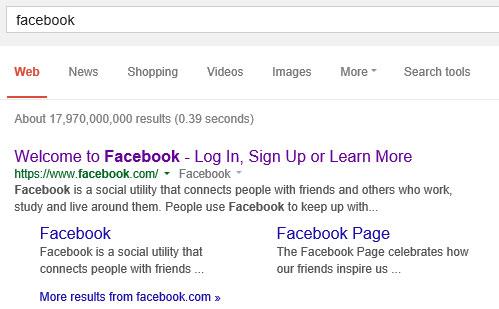 Googling Facebook