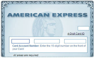 Forgot American Express password