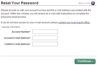 Reset Your Scottrade Password