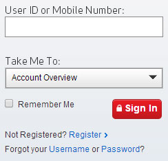 Sign in to your Verizon Wireless account