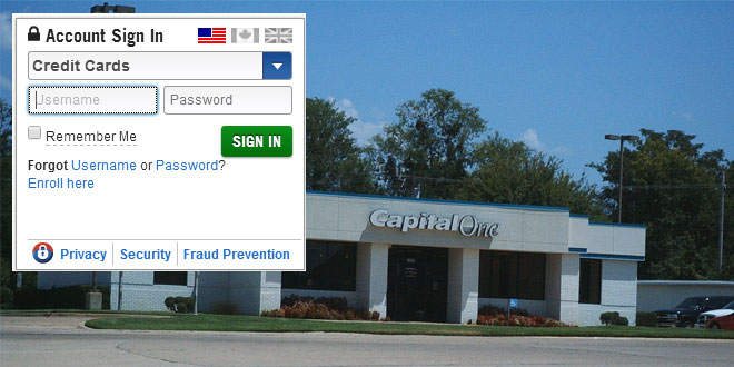 Capital One Credit Card login - Login Problems