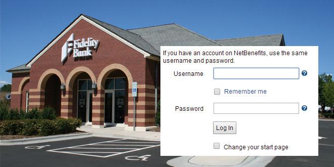 Fidelity login
