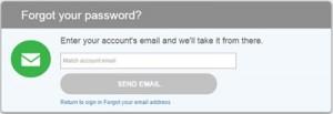 Forgot Match password