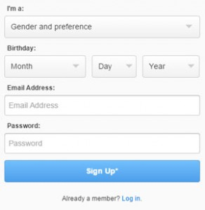 How to create a new Zoosk account?