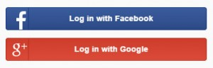 Zoosk login with Facebook or Google Plus