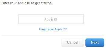 Reset your Apple password