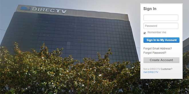 direct tv create online account