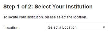 Select Your Institution
