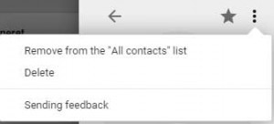 How to delete contact(s) from Gmail