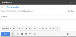 How to fax from Gmail